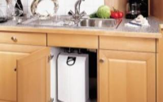 Безнапорный накопительный водонагреватель для дачи