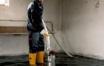 Вода в погребе частного дома что делать