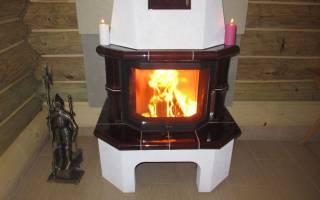 Отопление дачного домика дровами