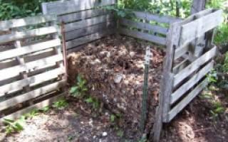 Как правильно сделать компостную яму на даче