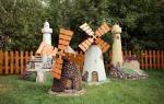 Как построить мельницу на даче