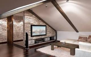 Мебель для мансарды на даче