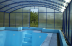 Бассейн на даче из поликарбоната