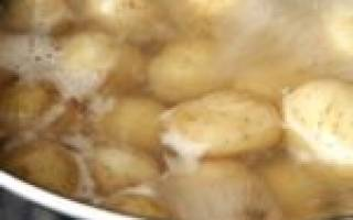 Картофельный отвар для комнатных растений