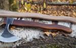 Из какого дерева делают топорище для топора