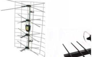 Всеволновая телевизионная антенна с усилителем для дачи