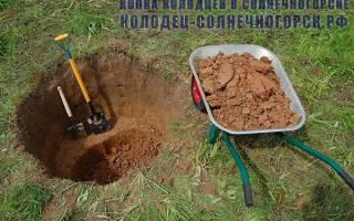 Когда лучше копать колодец осенью или весной