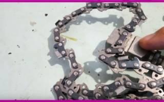 Растянулась цепь на бензопиле что делать