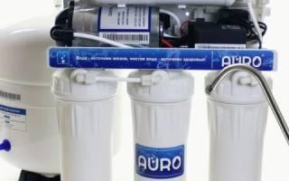 Как отмыть фильтр для воды от налета