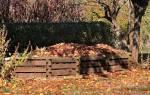 Приготовление компоста на даче