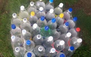 Как использовать пластиковые бутылки на даче
